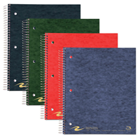 Roaring Spring College Ruled Notebook W/Double Pockets - 3 Subject