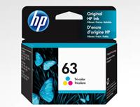 HP 63 INK CARTRIDGE